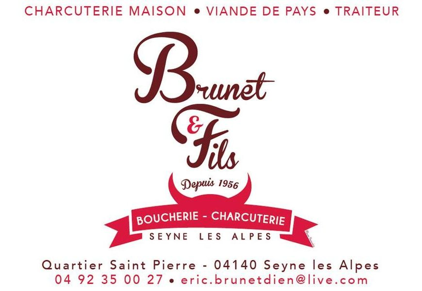 Logo boucherie Brunet