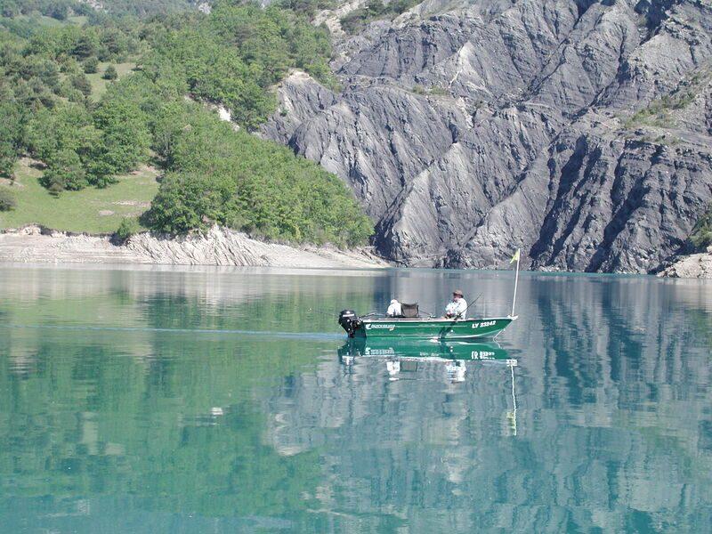 Pêche sur lac