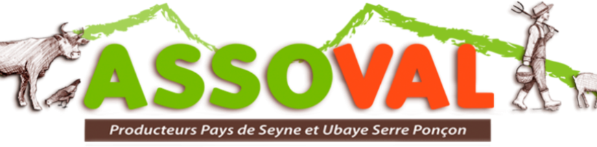 ASSOVAL – Producteurs du Pays de Seyne et d'Ubaye Serre-Ponçon